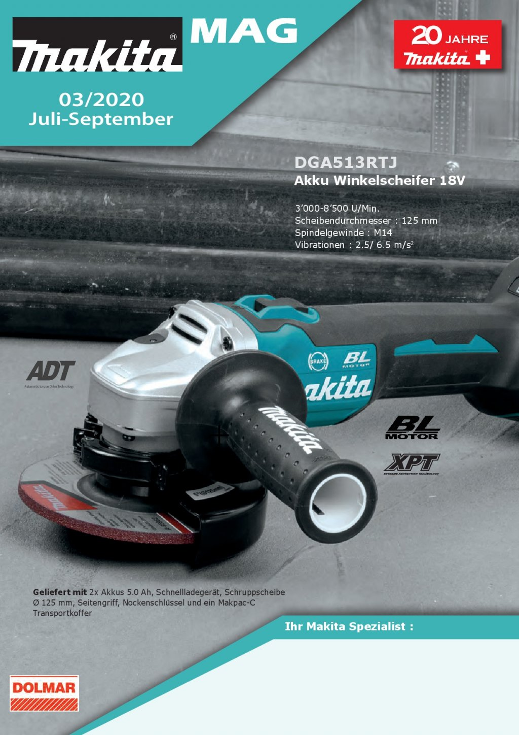 Makita Aktionen Juli- September 2020